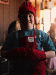 The young chef!
